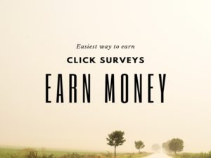 payment for clicks Online surveys